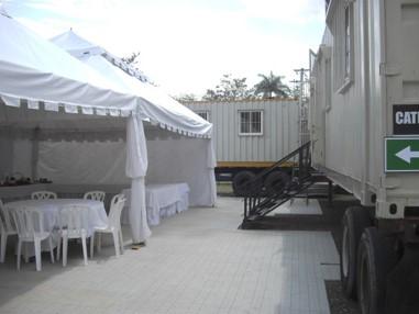 CONSTRUCCIÓN DE CAMERINOS DE 20/40 PIES